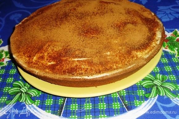 Вкусный и ароматный пирог готов.