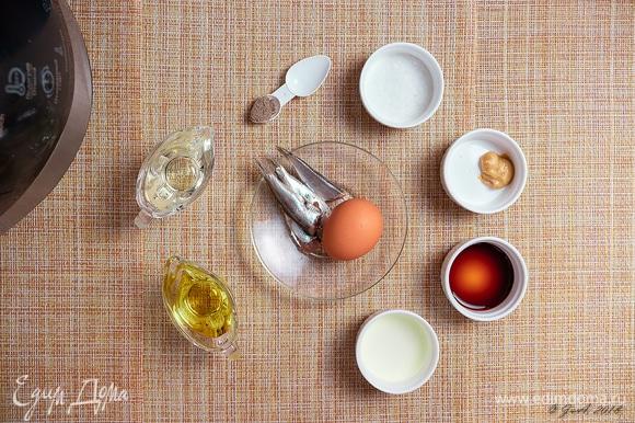 Начнем приготовление с заправки «Цезарь». Это совершенно не сложно, но результат просто потрясающий. Подойдет она абсолютно для любых свежих салатов, прекрасная замена майонезу.