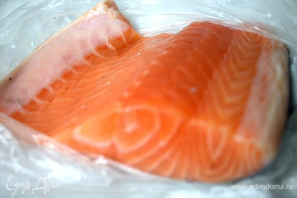 Переходим к рыбной добавке типа тартара.