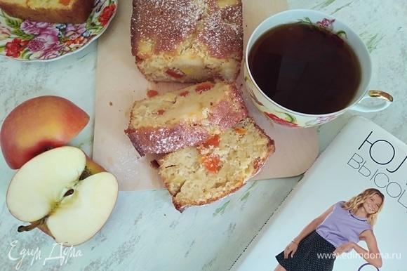 Кекс-хлеб получается таким нежным! Чаепитие с ним — одно удовольствие!
