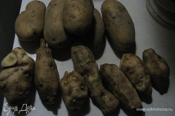 Для здоровья очень полезно совмещать картофель и топинамбур. Мало того что это полезно, это еще придает особенный вкус блюду и насыщает необходимыми витаминами и аминокислотами наш рацион, главное — быстро помыть и очистить от кожуры.