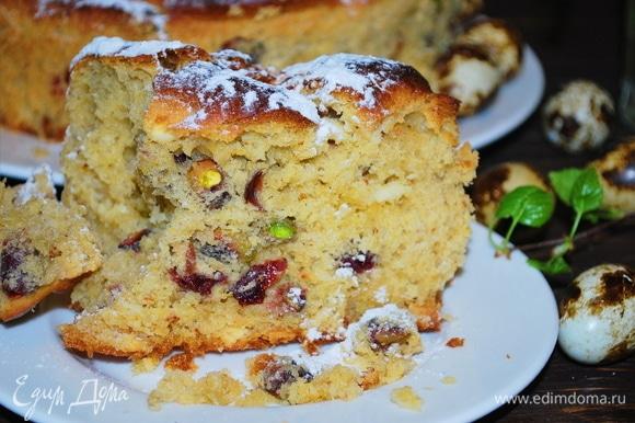 Кто любит влажное рассыпчатое и очень сдобное тесто, оценят!
