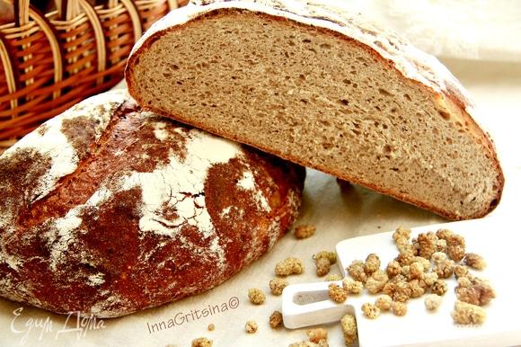 Дать хлебу остыть на решетке 3–4 часа. Приятного аппетита!