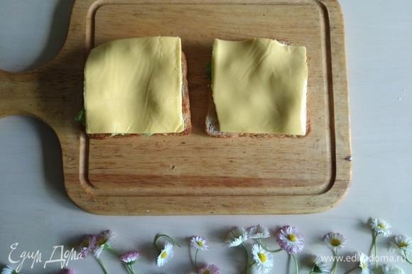 Потом — плавленый сыр для сэндвичей.