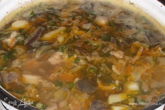 Варим суп еще в течении 10 минут. Приятного аппетита!