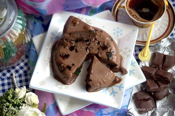 Нежно, вкусно, шоколадно!