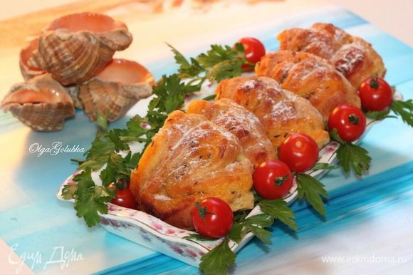 Аппетитные и румяные булочки «Ракушки» готовы!