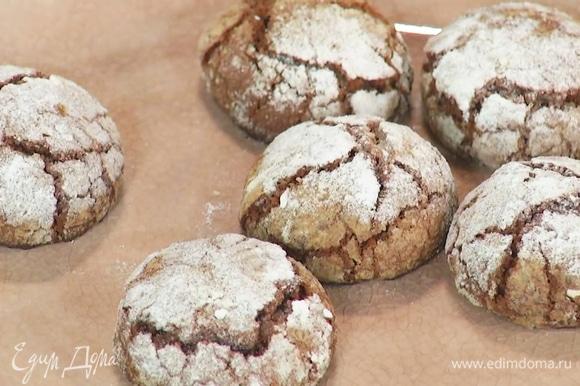 Выпекать печенье 15–20 минут при 190°С.