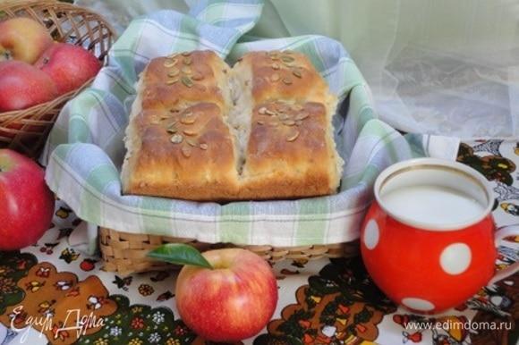 Остудите и подавайте на завтрак, полдник с молоком или чаем.