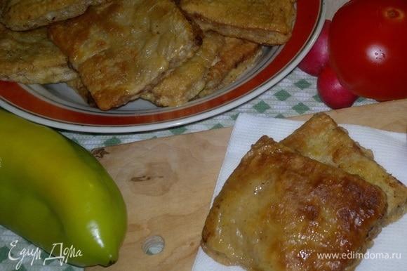Румяные лепешки готовы! Очень вкусно со свежими овощами, зеленью, первыми блюдами и чаем. Приятного аппетита!