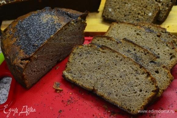 Ароматный хлеб на закваске очень вкусный и полезный!