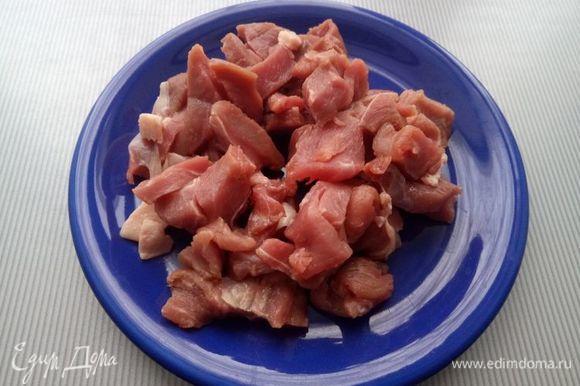 Начинку можно взять любую. Я обычно беру мясо, какое есть. В данный момент говядина (300 г).
