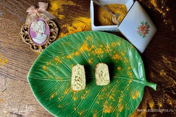 Вот так — в разрезе. С ананасом очень яркий вкус! Берите только свежий, консервирований не годится: нет вкуса, аромата и текстуры!
