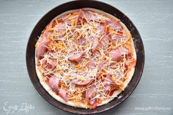 Тесто можно использовать для приготовления пиццы.