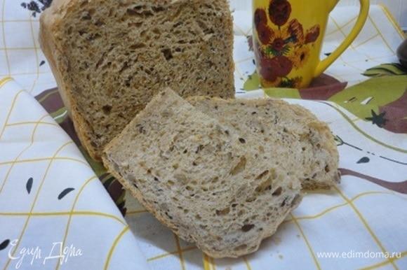 Отличный промес! Пористый и ароматный хлеб с аппетитной хрустящей корочкой. Очень рекомендую!