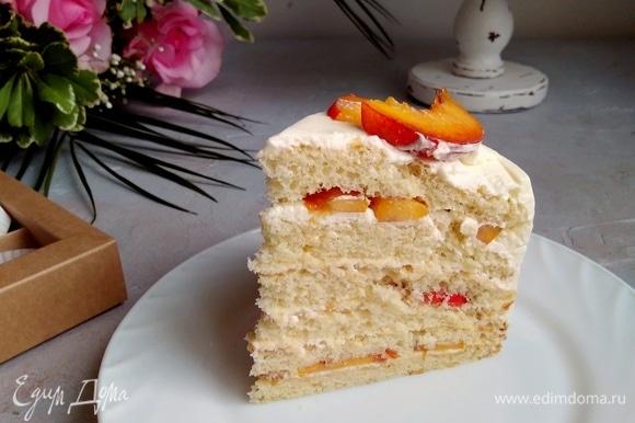 Это самый нежный торт, который я готовила! Попробуйте и вы.