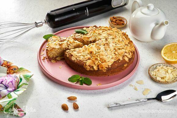 Остудите пирог и подавайте к столу. Приятного чаепития!
