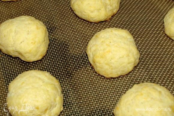 Готовое печенье достать. Остудить.