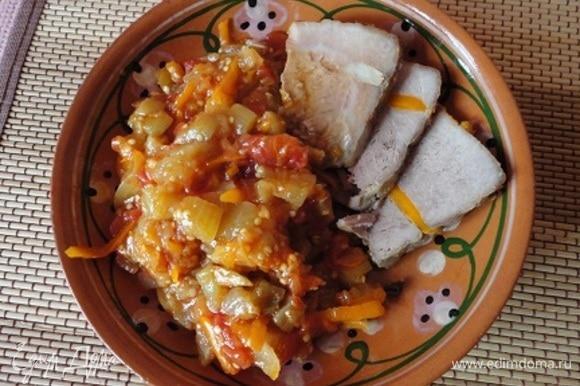 Рагу хорошо и в теплом, и в холодном виде, как самостоятельное блюдо или гарнир.