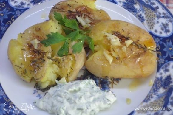 Для меня и мяса не надо, когда на столе такой аппетитный картофель.