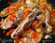 Ребрышки ягненка с оливками по-средиземноморски