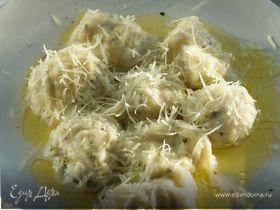 Творожные ньокки с базиликом