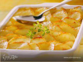 """Картофель для большой семьи """"gratin dauphinois"""""""