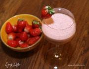 Сливочно-клубничный коктейль