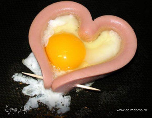Завтрак на день влюблённых