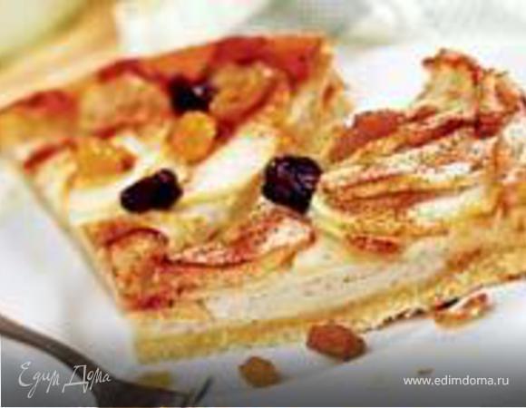 Креольский яблочный пирог
