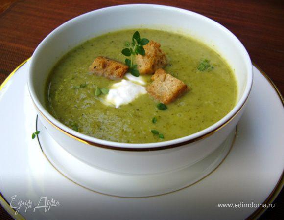 Кремовый суп из брокколи