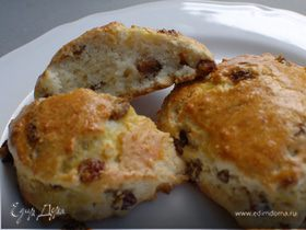 Английские сливочные булочки к чаю