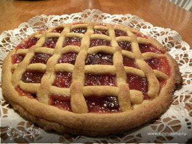 """Итальянский сладкий пирог """"Кростата"""""""