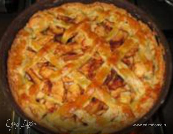 Яблочный пирог /староголландский рецепт/