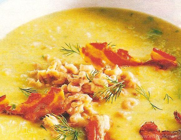 Густой картофельный суп