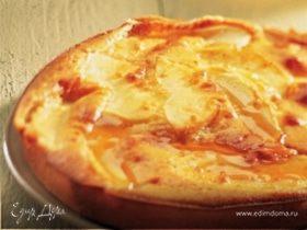 Яблочный пирог с медом