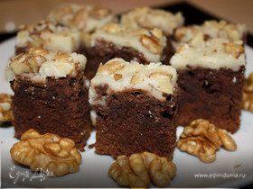 Брауни с орехами