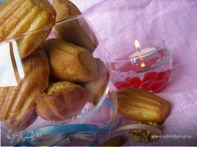 Мадленки ореховые