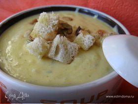Суп-пюре из тыквы с эстрагоном