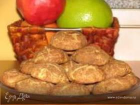 Печенье с корицей и шоколадной пастой