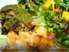 Рыба с соусом Шермула