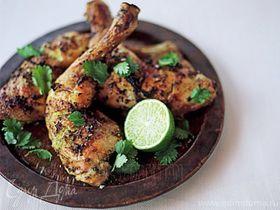 Куриные окорочка по-тайски