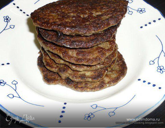 Оладьи из говяжей печени