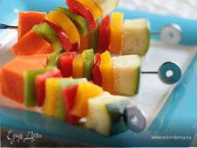 Овощные кебабы