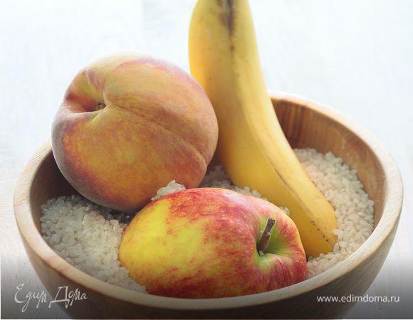 Рис с фруктами для детей