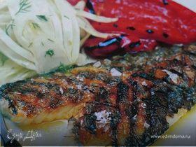 Рыба с чесноком и фенхелем
