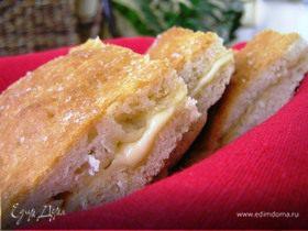 Лепешка фокачча (focaccia) с сыром
