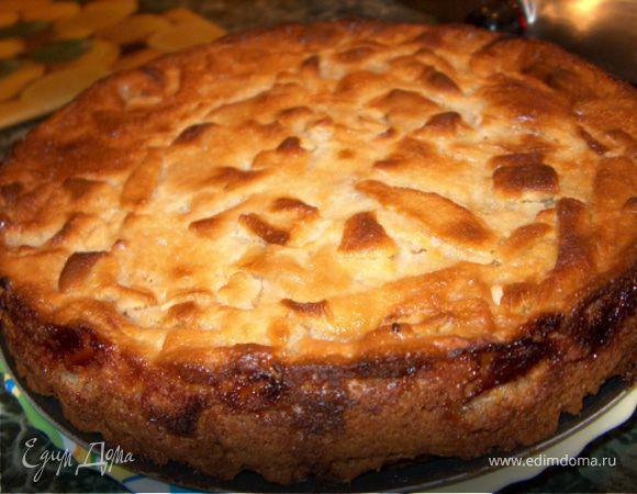 фото пирога яблочного