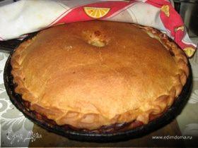 Курник (пирог с курицей)