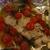 Запеченная треска с помидорами и шпинатом